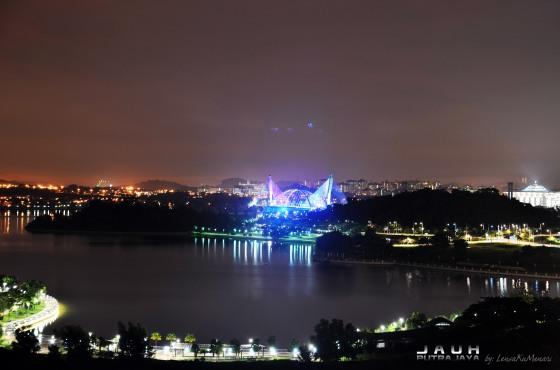 """Jauh"" Putrajaya View from PICCCapture by Izwan Helmi using NIKON D-7000"