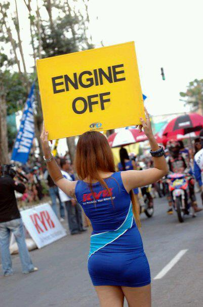 off your engine